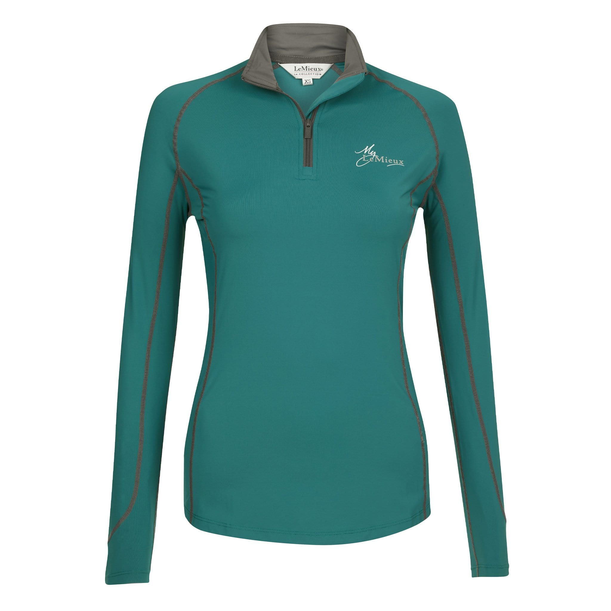 LeMieux Base Layer Peacock Front 5468.
