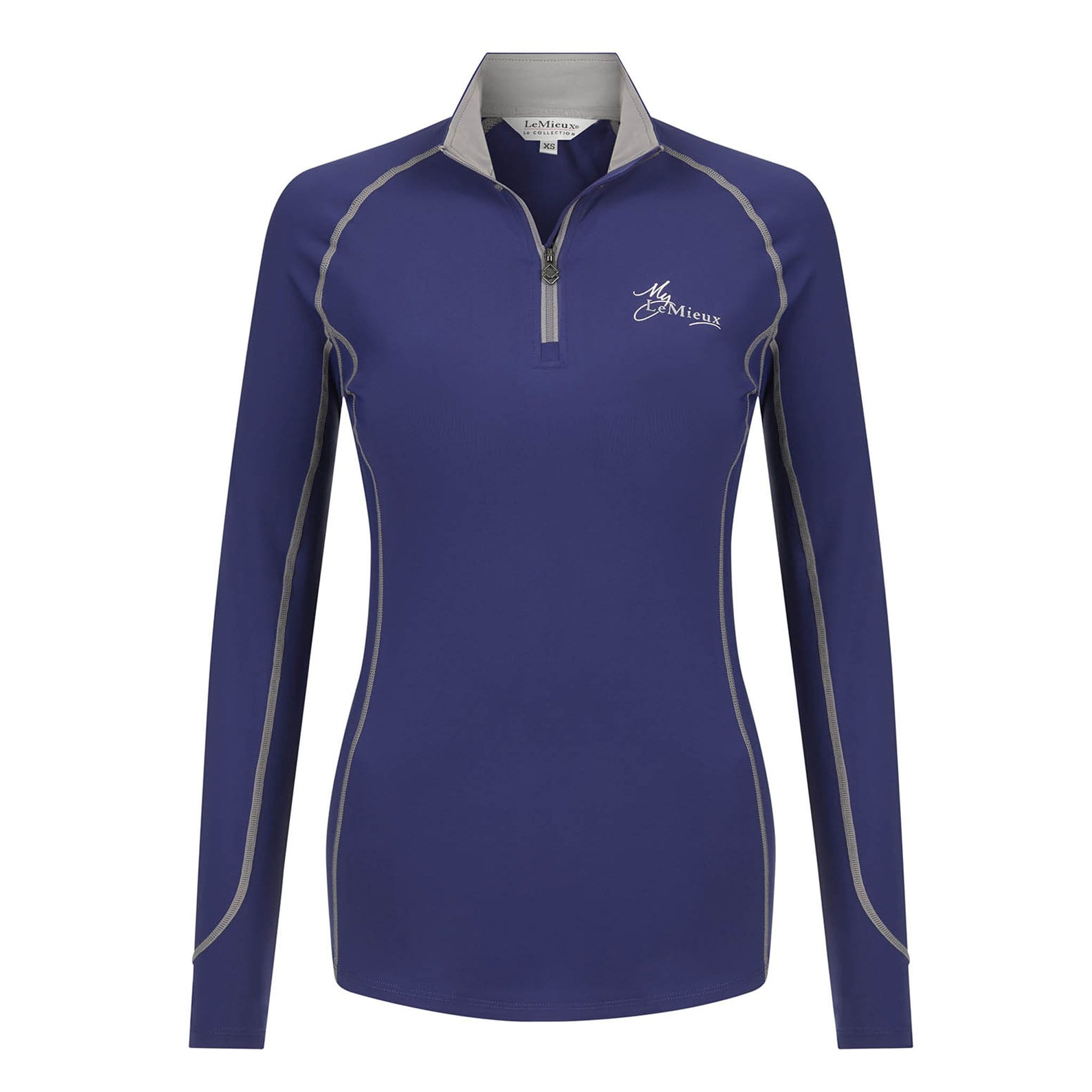 LeMieux Base Layer 5805 Ink Blue Front View