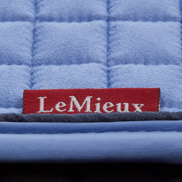 LeMieux Classic Dressage Square Corn Blue Close Up 7630