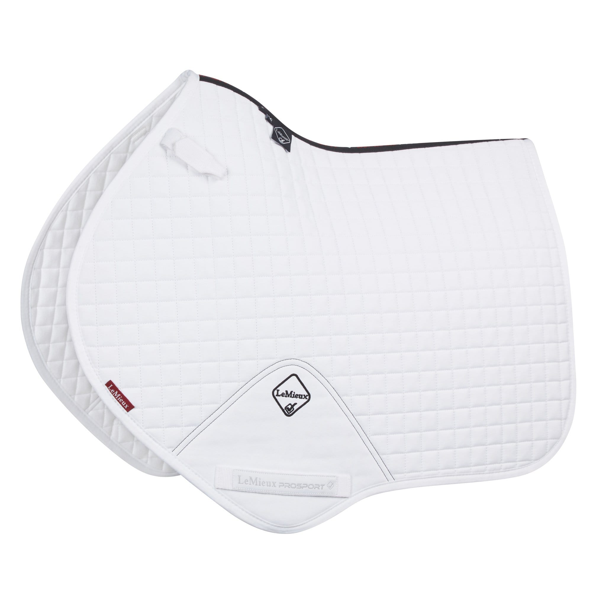 LeMieux ProSport Close Contact Square White 8915
