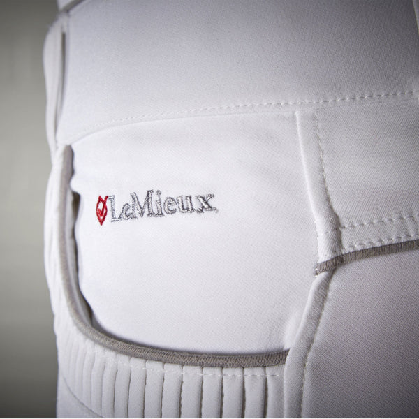 LeMieux Engage Breeches White Pocket Detail 7714