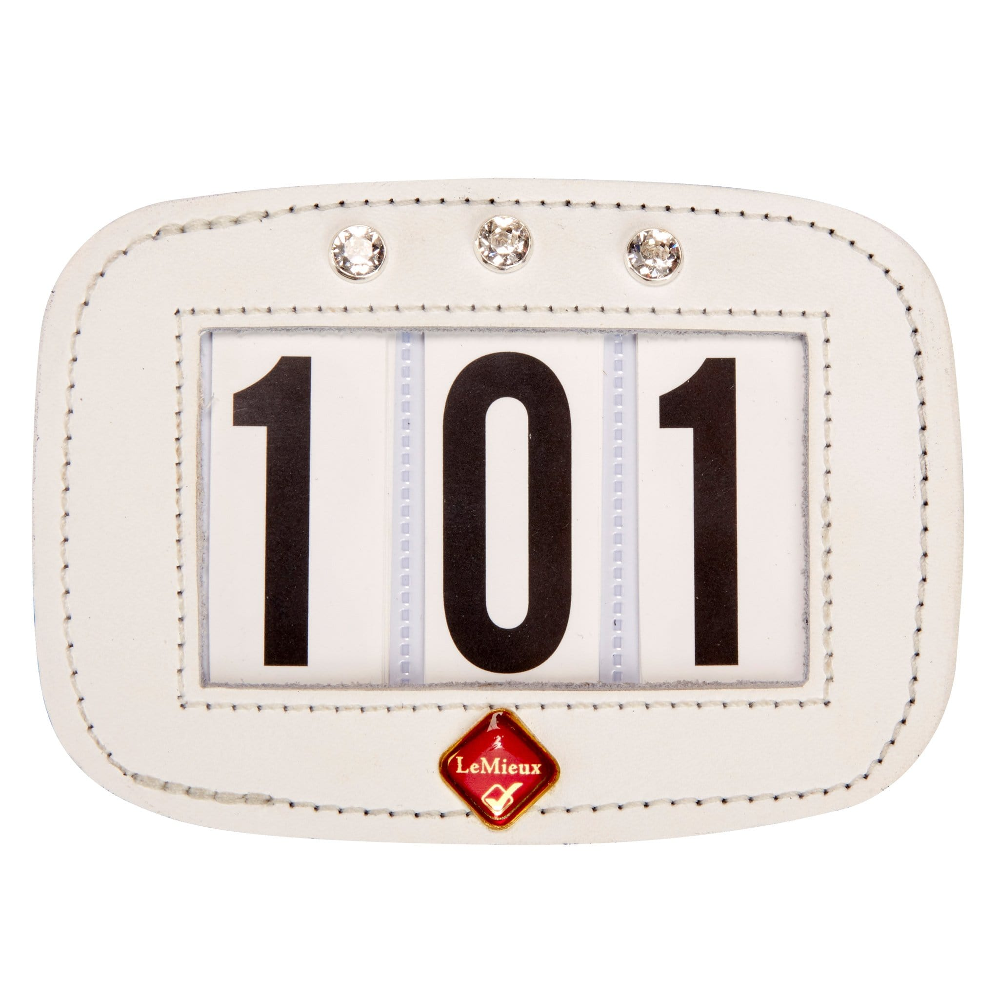 LeMieux Hamag Diamante Saddle Pad Number Holder 10293