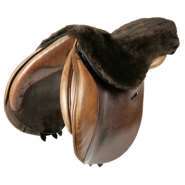LeMieux Lambskin Seat Saver Brown 8109