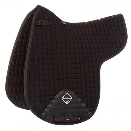LeMieux ProSport Dressage Numnah in Black