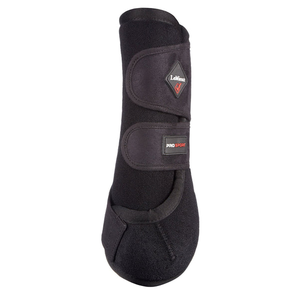 LeMieux ProSport Support Boots Black Rear View 9464