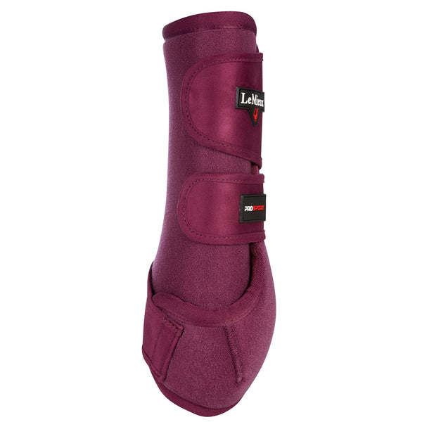 LeMieux ProSport Support Boots Plum Rear View 7446