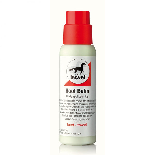 Leovet Hoof Balm with Brush LEO3016