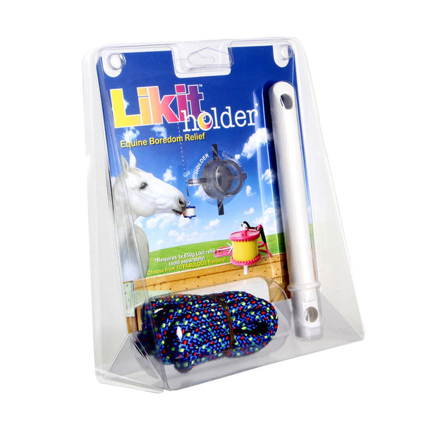 Likit Holder in Clear Glitter Package 13335