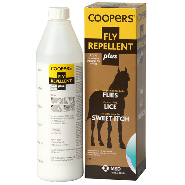 Coopers Fly Repellent Plus ITV0715