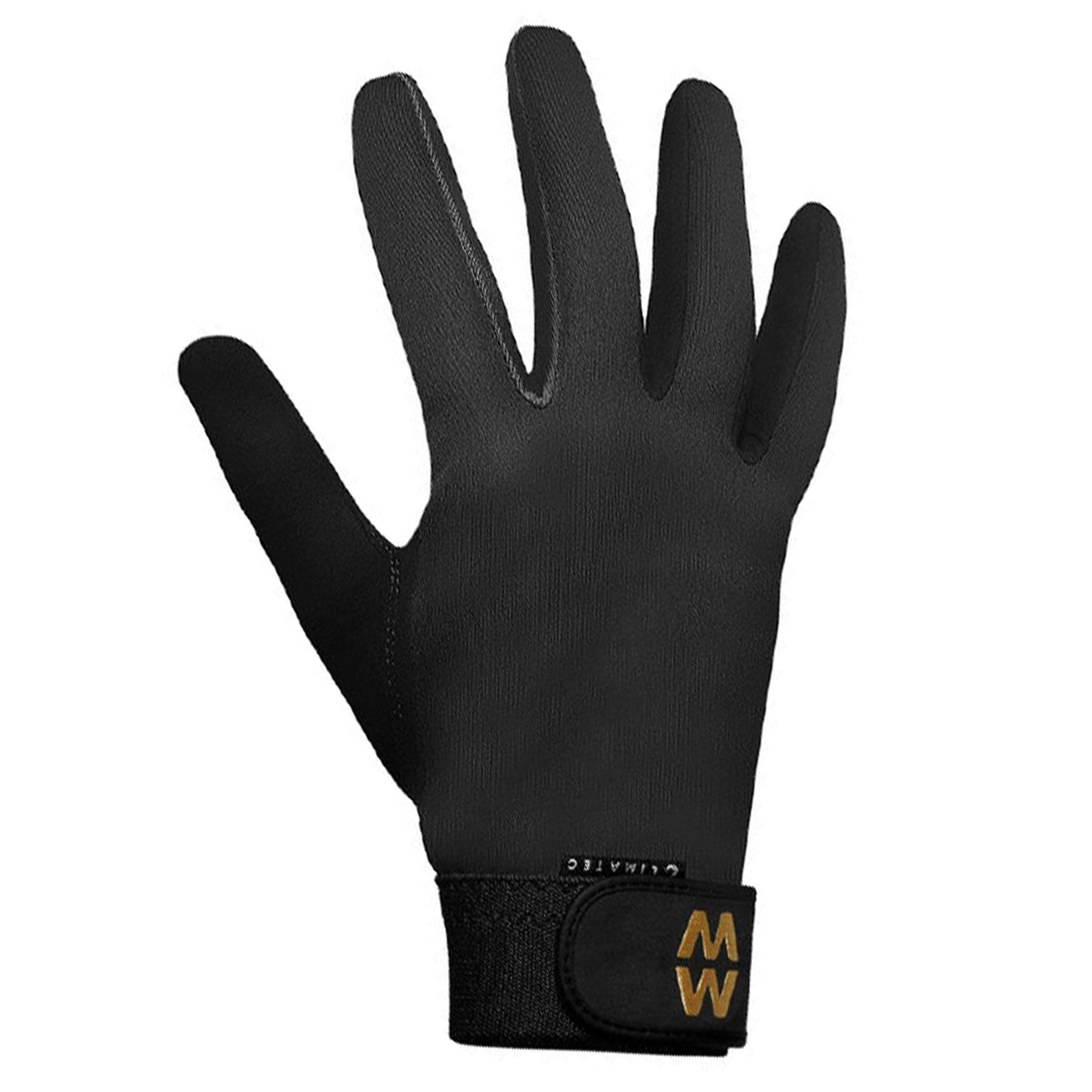 MacWet Climatec Long Cuff Gloves Black 2717.