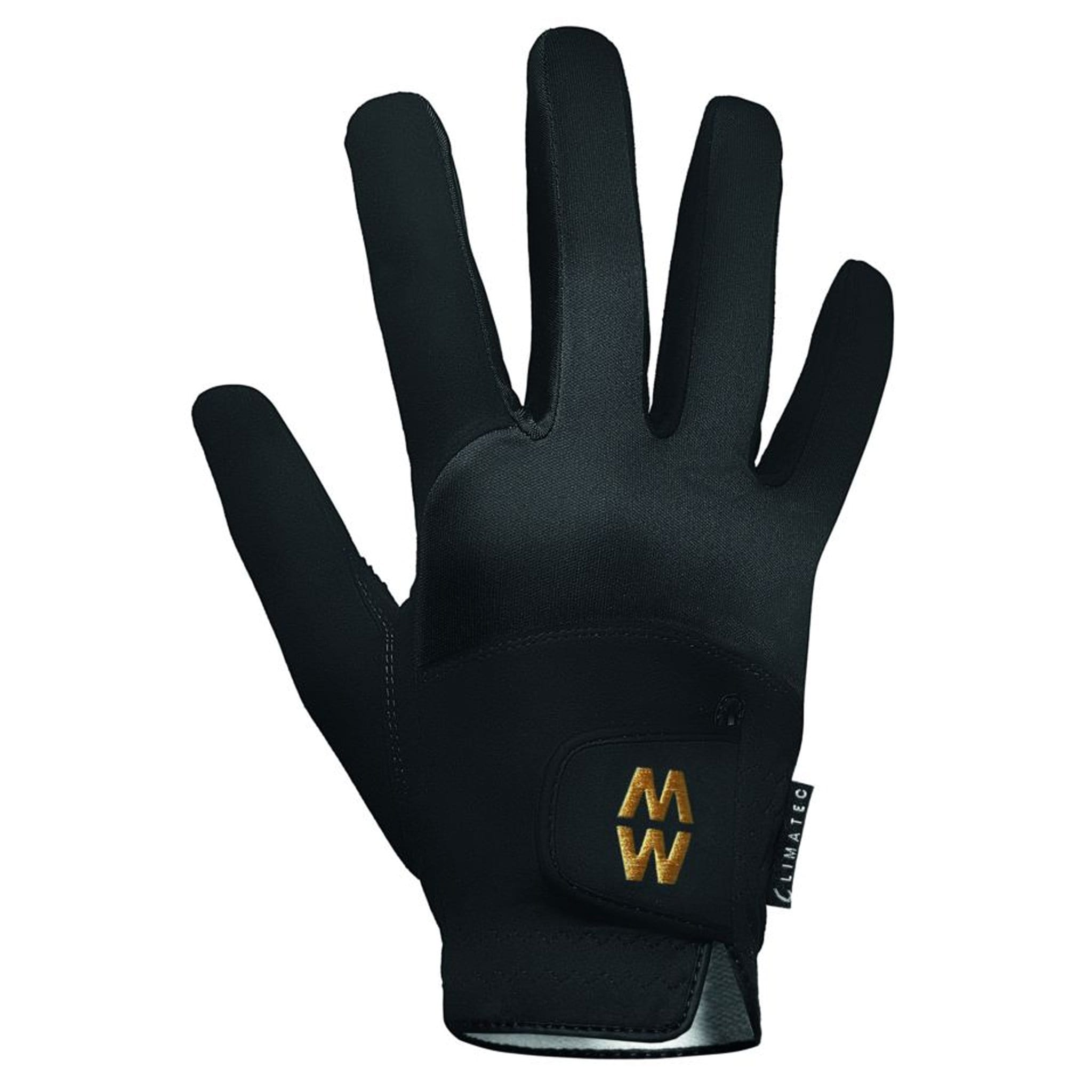MacWet Climatec Short Cuff Gloves Black 2598.