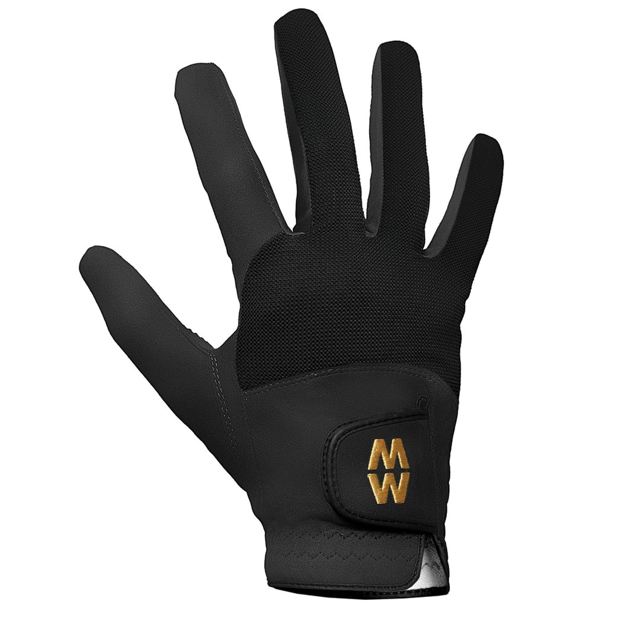 MacWet Mesh Short Cuff Gloves Black 2339.