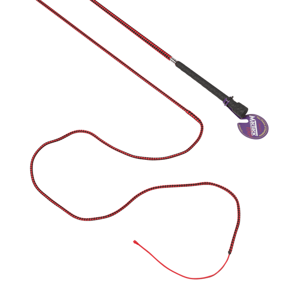 Mactack Dealer Whip in Black and Red MAC5857