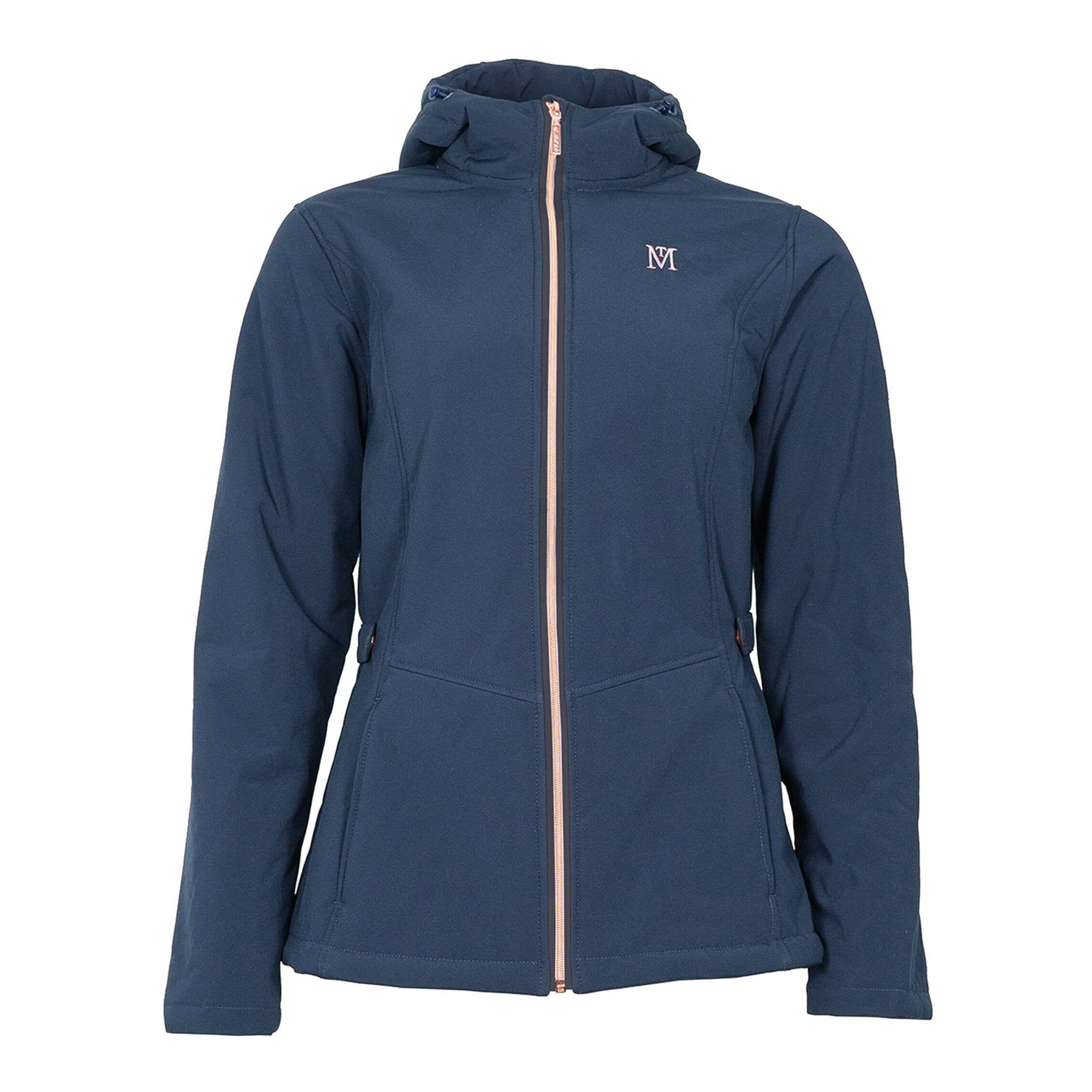 Mark Todd Fleece Lined Softshell Jacket Navy TOD692130.
