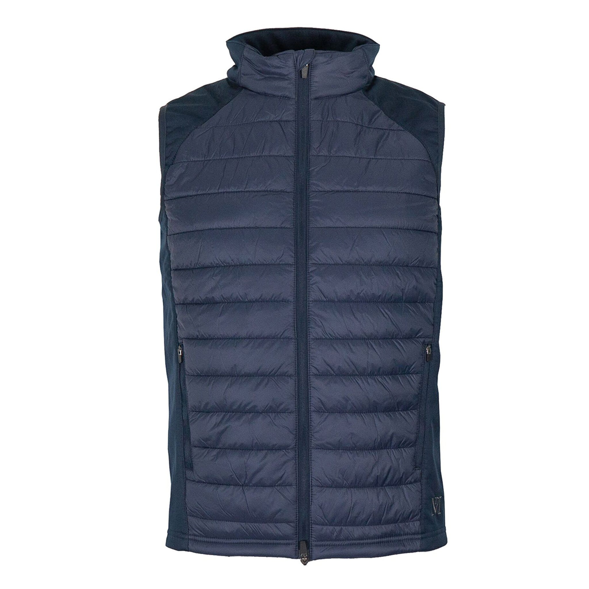 Mark Todd Unisex Quilted Gilet Navy TOD810172.