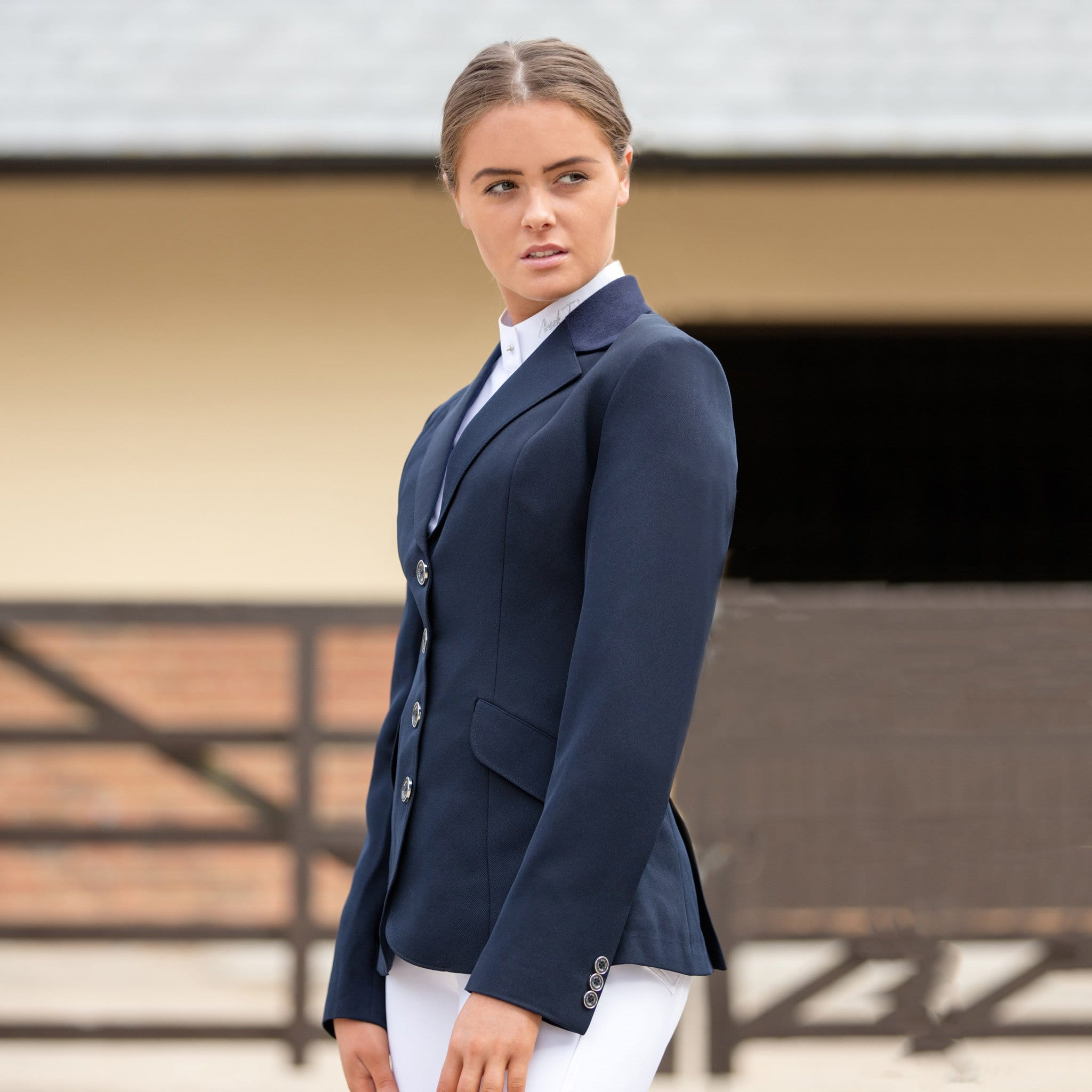 Mark Todd Elite Show Jacket Navy TOD810042