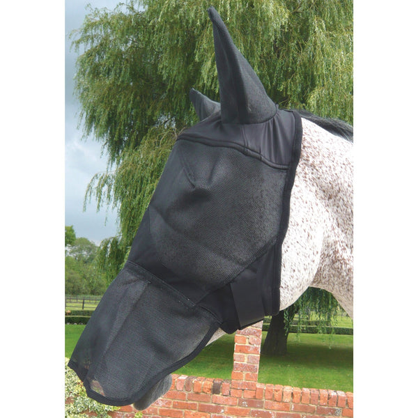 Mark Todd Full Face Fly Mask With Ears TOD885350