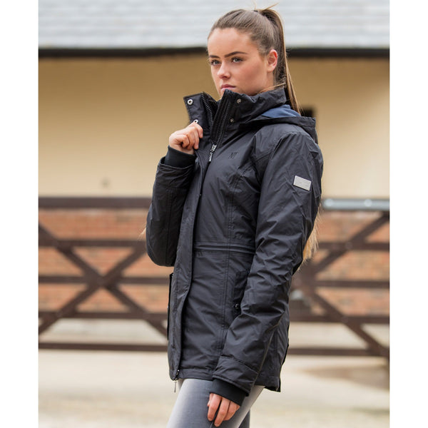 Mark Todd Inga Ladies Waterproof Jacket Black TOD810162
