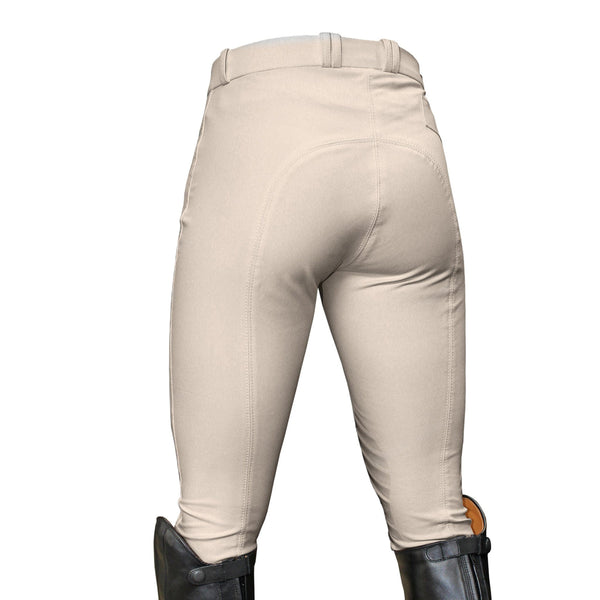Mark Todd Ladies Coolmax Grip Breeches Beige Studio TOD802762