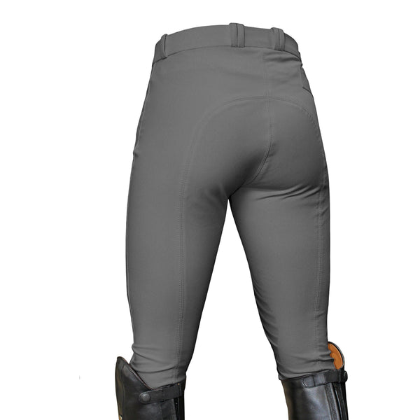 Mark Todd Ladies Coolmax Grip Breeches Grey Studio TOD802768