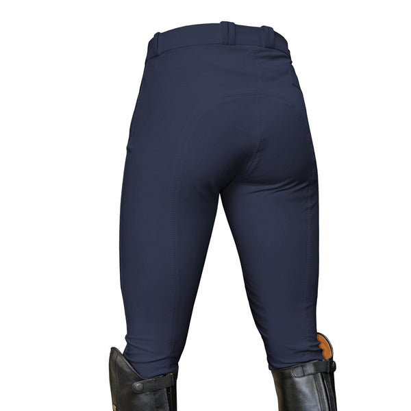 Mark Todd Ladies Coolmax Grip Breeches Navy Studio TOD802756