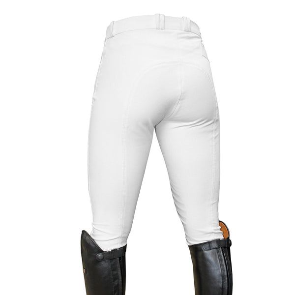 Mark Todd Ladies Coolmax Grip Breeches White Studio TOD802750