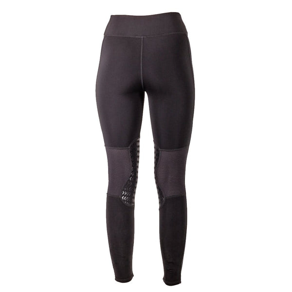 Mark Todd Ladies Riding Leggings in Black Rear View 803200