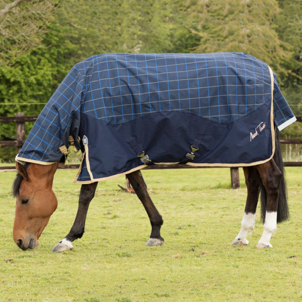 Mark Todd Lightweight Combo Turnout Rug Plaid TOD880574
