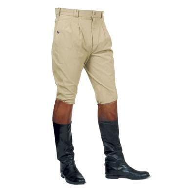 Mark Todd Men's Auckland Alos Knee Patch Breeches in Beige