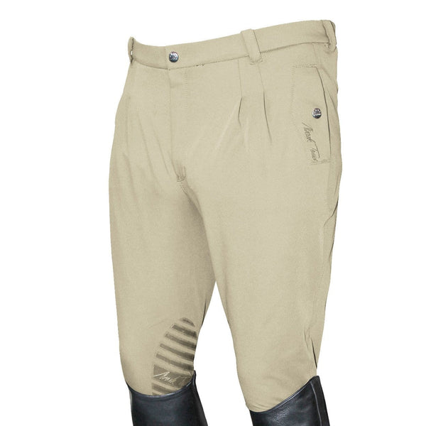 Mark Todd Men's Coolmax Grip Breeches in Beige