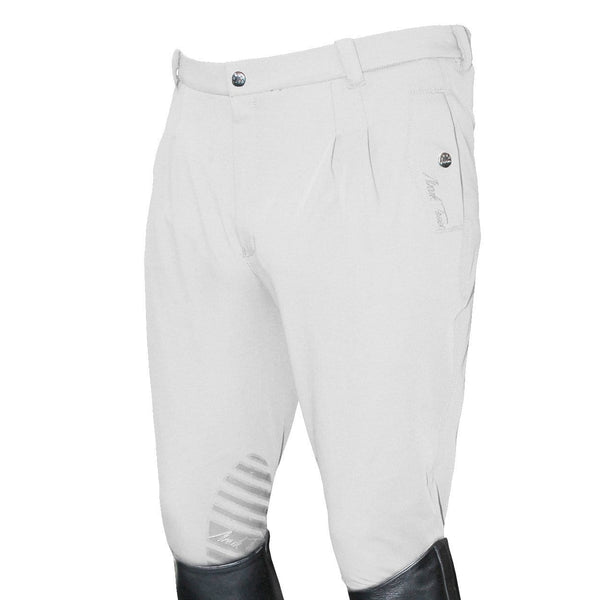 Mark Todd Men's Coolmax Grip Breeches in White
