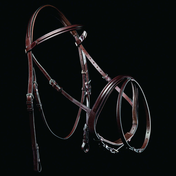Mark Todd Performance Flash Bridle Oak 893256