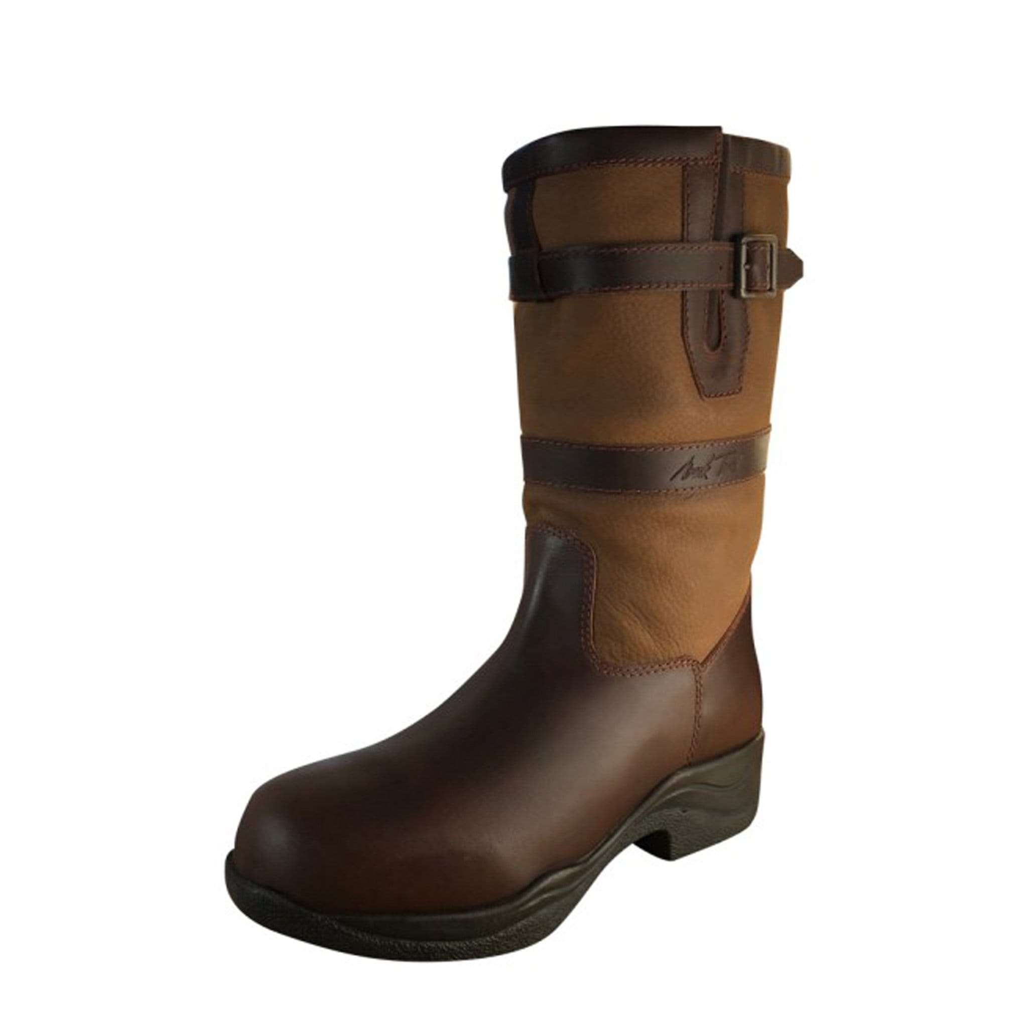 ... Short Leather Country Boot 139395 Larger Image ... c3d2ed61d