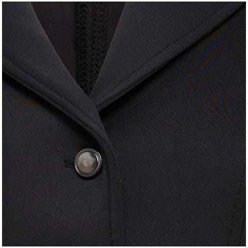 Montar Competition Jacket with Black Stones Button Inset comb427