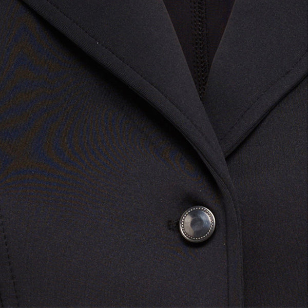 Montar Competition Jacket with Mesh Collar Button Inset comb527
