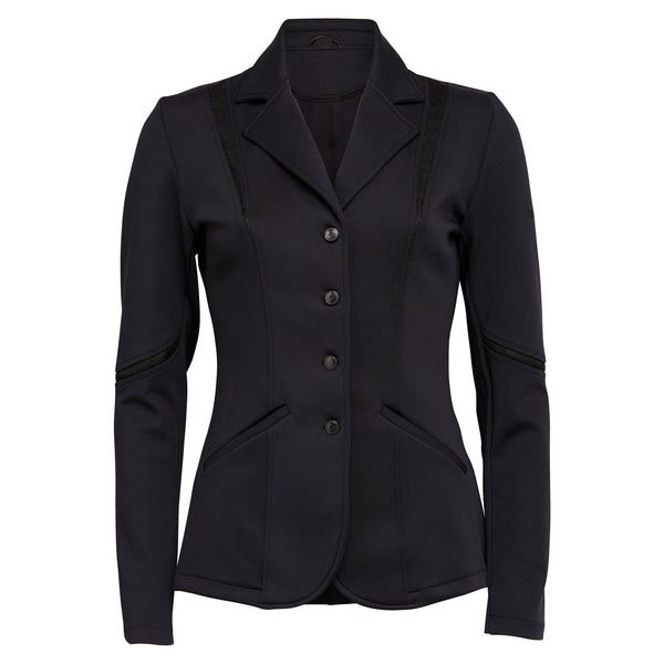 Montar Competition Jacket with Mesh Collar in Black comb527