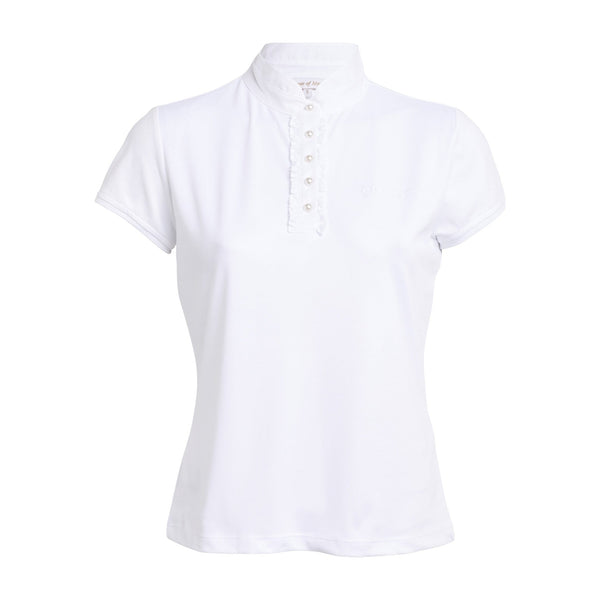 Montar Competition Shirt in White ct1621