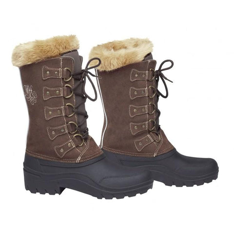 Mountain Horse Ladies Eclipse Suede Boot in Brown