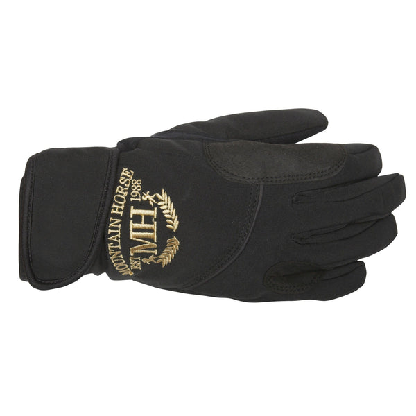 Mountain Horse Ladies Soft Shell Glove in Black