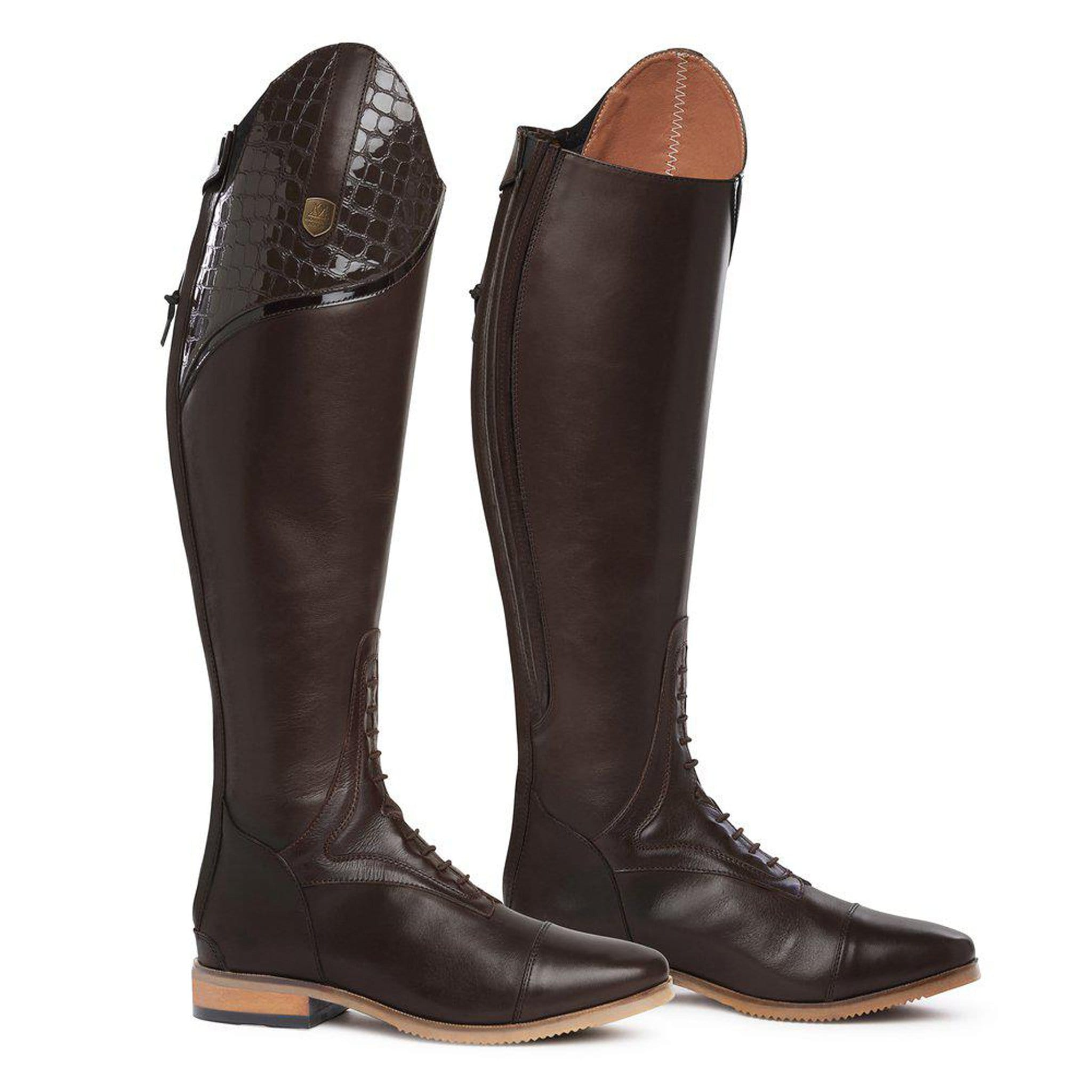 Mountain Horse Sovereign Lux Riding Boots - Dark Brown 0214 Pair
