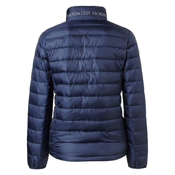 Mountain Horse Ambassador Jacket Navy Studio Rear View 03295