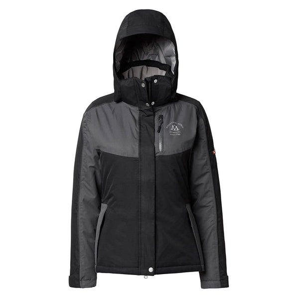 Mountain Horse Amber Jacket Black Studio Hood Up 03214