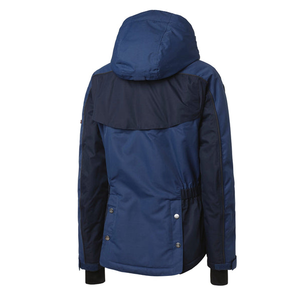 Mountain Horse Amber Jacket Navy Studio Rear 03214