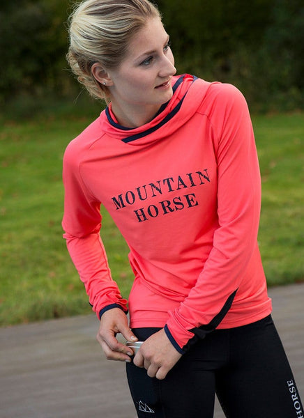 Mountain Horse Aveny Tech Hoodie in Pink