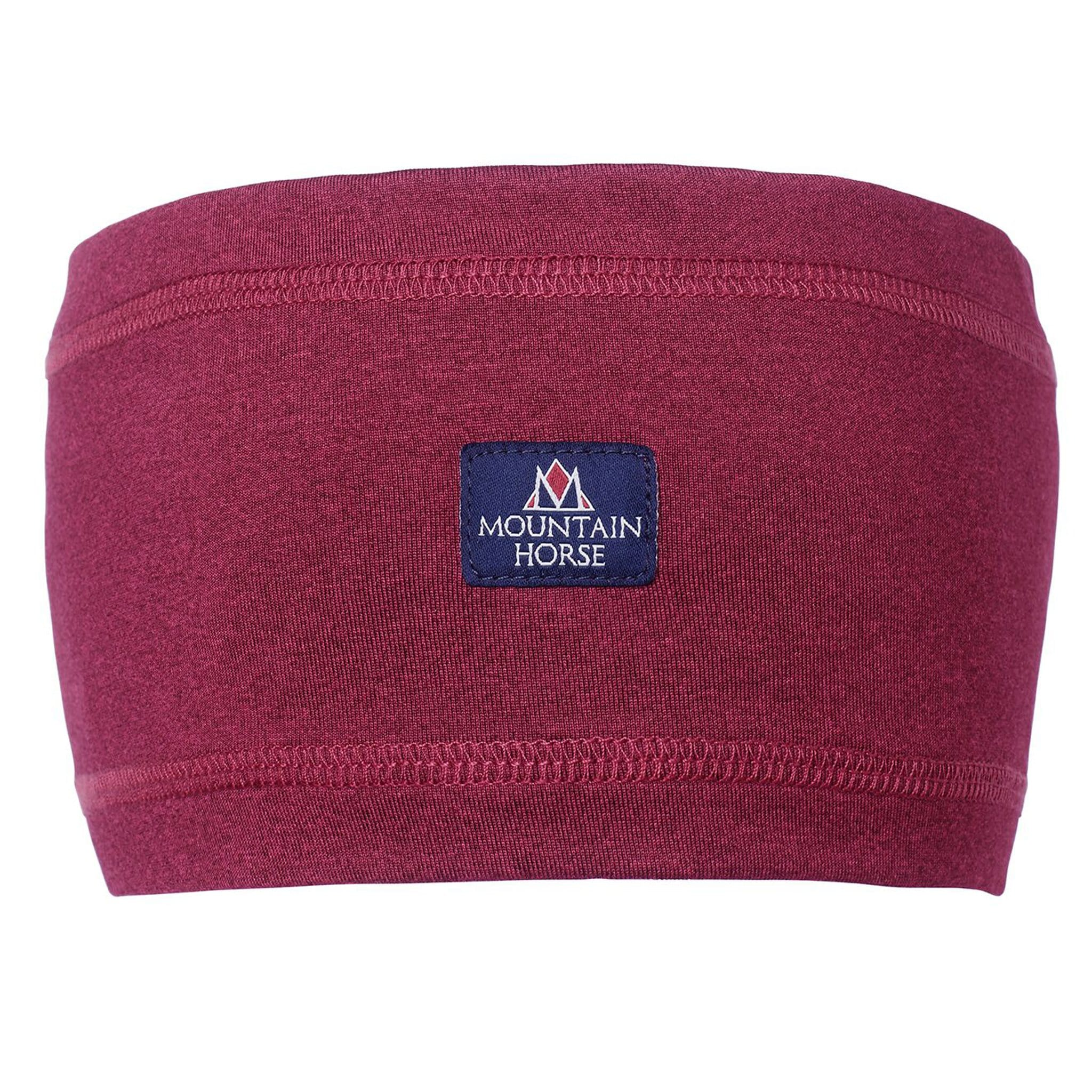 Mountain Horse Ayla Headband in Burgundy 08184