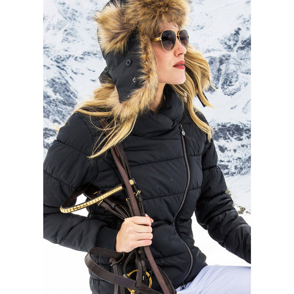 Mountain Horse Beverly Jacket Black Lifestyle Side View 03257