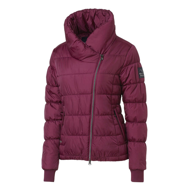 Mountain Horse Beverly Jacket in Cranberry Red Front