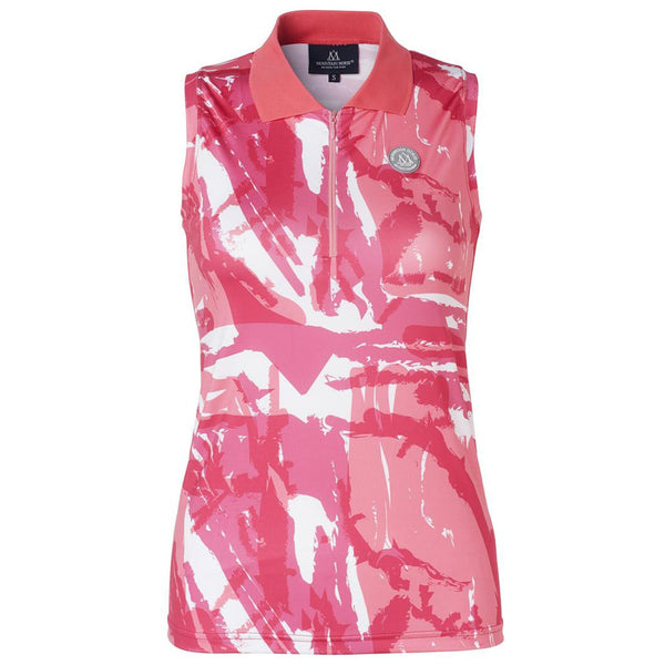 Mountain Horse Breeze Tech Top in Pink Front 04311