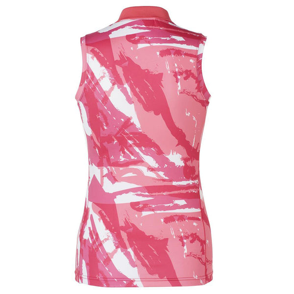 Mountain Horse Breeze Tech Top in Pink Back 04311