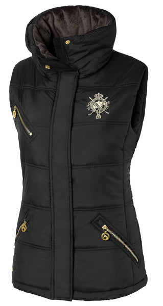Mountain Horse Cheval Vest in Black